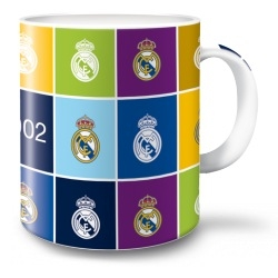 Hrnek Real Madrid color