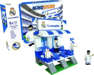 NANOSTARS: Real Madrid - tribuna